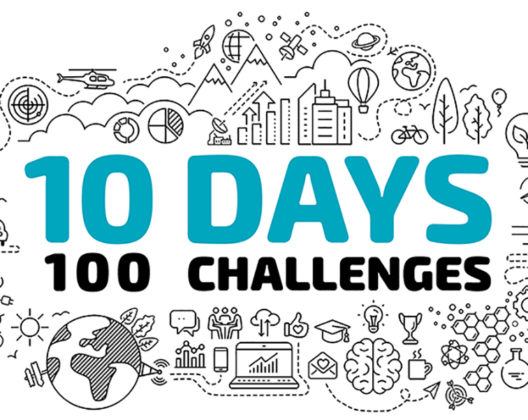 10 Days 100 Challenges 2021